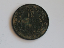 Luxembourg 10 Centimes 1870 - Lussemburgo