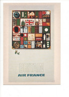 25771 - Air France Grande Bretagne Pages Britain Air France - Andere