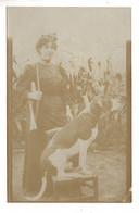CHIENS . PRÉSENTATION CHIEN DE CHASSE . CARTE-PHOTO - Réf. N°10464 - - Hunde