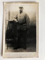 """Foto Ak Soldat Francais Uniform 222 Territoriale 4 Comp 5 Esc """"harfleur Le 4 Julliet 1915""""? - Guerre 1914-18"""