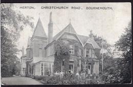 U.K. - Post Card - Merton - Bournemouth - Christchurch Road - Circa 1930 - No Circulated - A1RR2 - Bournemouth (a Partire Dal 1972)