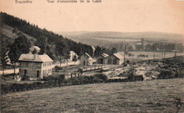 Baconfoy  Vue D'ensemble De La Gare Circulé En 1924 - Tenneville