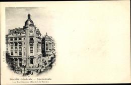 CPA Paris II. Arrondissement Bourse, Societe Generale, Rue Reaumur, Place De La Bourse - Otros
