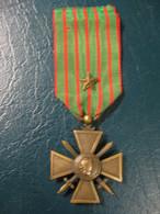 Croix De Guerre 1914-1915 Avec 1 Citation - France