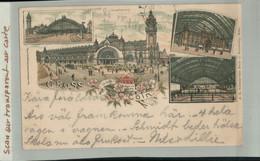 ALLEMAGNE  GRUSS Aus CÖLN 1901 Précurseur Timbre  Cachet Cöln Privat-Post ( 2020 Septembre 265) - Koeln