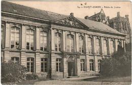 51aks 129 CPA - SAINT OMER - PALAIS DE JUSTICE - Saint Omer