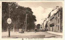 51aks 639 CPA - VANNES - AVEQUE DE LA GARE - Vannes