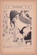 LA VIE PARISIENNE  Humour Erotisme Paul Iribe  Ed Touraine H Gerbault R Prelejean Fabiano (4) 8 Scans - 1900 - 1949