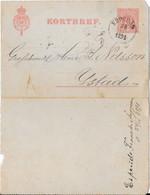 Sur Lettre - 1891 Entier Postal - Storia Postale