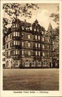 CPA Nürnberg, Gaststätte Tiefer Keller, Inh. Hans Diller, Frauentorgraben 17 - Germany