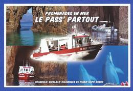 CORSE SCANDOLA GIROLATA PROMENADES EN MER PASS'PARTOUT - Corse