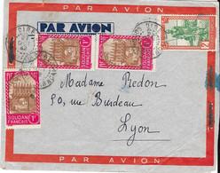 PAR AVION 1942 Sur Lettre SOUDAN FRANCAIS - Brieven En Documenten