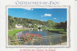 CHATEAUNEUF-DU-FAOU : L'Aulne - Châteauneuf-du-Faou