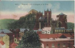 Huy - Panorama De La Collégiale Et Du Fort - Huy