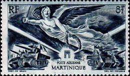 Martinique Avion N** Yv: 6 Mi:232 Anniversaire De La Victoire - Aéreo