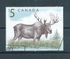 Canada $5 Moose,wild Animal Used/gebruikt/oblitere - Gebruikt