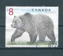 Canada $8 Grizzly Bear,wild Animal Used/gebruikt/oblitere - Gebruikt