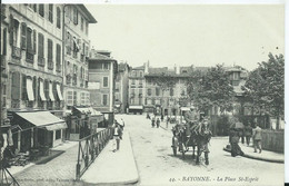 BAYONNE - La Place Saint Esprit ( Attelage ) - Bayonne