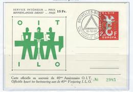 COB  PR 133/134  Les Deux Cartes   (°) - Private & Local Mails