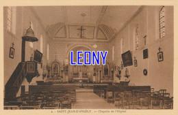 CPSM 9X14 De SAINT JEAN D' ANGELY   (17)-  CHAPELLE De L'HÔPITAL  N° 2 - Saint-Jean-d'Angely