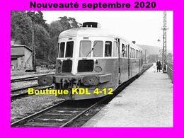 AL 647 - Autorail De Dietrich X 42524 En Gare De WINGEN-SUR-MODER - Bas-Rhin - SNCF - Trains