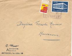 Netherland Nice Railway Cover - Paketmarken