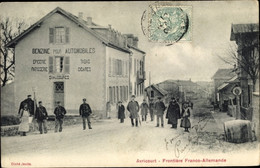CPA Avricourt Lothringen Meurthe Et Moselle, Frontiere Franco Allemande - Andere Gemeenten