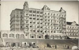 """KNOKKE - KNOCKE - Fotokaart (moederkaart) """"Le Grand Hôtel"""" - Knokke"""