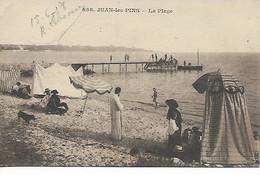 Alpes Maritimes JUAN LES PINS La Plage 1918     ..G - Altri Comuni