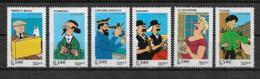 FRANCE - Yvert  N° 4051 à 4056 ** LES VOYAGES DE TINTIN (Hergé) - Neufs