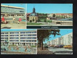 BRD - AK - Schwedt - Centrum-Warenhaus, Teilansichten - Schwedt
