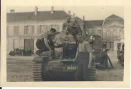 France. Aisne. 02.  Photo Soissons 1940 ? (voir Verso) - Lieux