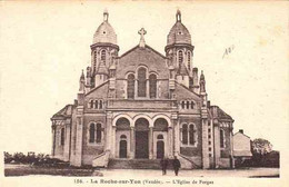 CPA LA ROCHE SUR YON - L'EGLISE DES FORGES - La Roche Sur Yon