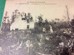 ♥️ CELLES SUR PLAINE MIlitaria LA Chapelotte Le Cimetiere  Et La Maison Forestière - Frankreich