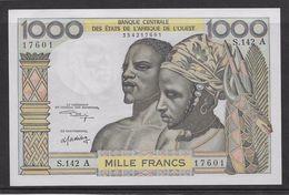 Côte D'Ivoire - 1000 Francs - 1959/1965 Pick N°103Ak - Neuf - Elfenbeinküste (Côte D'Ivoire)