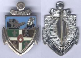 Insigne Du 6e Groupe D'Artillerie De Marine Du Territoire Français Des Afars Et Issas - Esercito