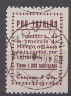 TOTALAN - MALAGA - Viñetas De La Guerra Civil