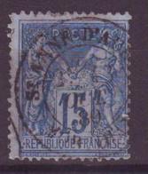 Ste Anne D'Auray Morbihan (56) Oblitération Type 18 Sur Sage - 1877-1920: Semi-Moderne