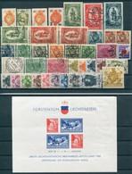 Liechtenstein - Gutes Lot Ungebr.*/gest. - Collections