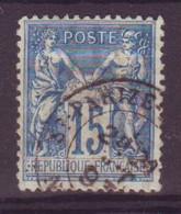 St Parize Le Chatel Nievre (58) Oblitération Type 18 Sur Sage - 1877-1920: Semi-Moderne