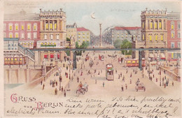 241623Berlin, Gruss Aus Berlin Electrische Hochbahn. (poststempel 1904) - Contraluz