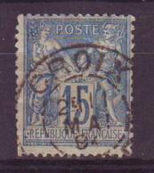 Croix Nord (59) Oblitération Type A1 Sur Sage - 1877-1920: Semi-Moderne