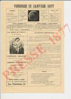 Pub 1877 Cosmétique Delacour Allaitement Au Sein Bébé Liébert Pharmacien E. Couvenant 56 Rue Tiquetonne Paris 231CH25 - Zonder Classificatie