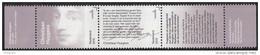 Nederland - Brieven Schrijven - Christiaan Huygens - Portret/tekstfragment - MNH - NVPH 3323-3324 - Nuevos