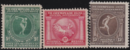 Belgie       .    OBP     .   179/181       .     *      .  Ongebruikt     .   /   .    Neuf Avec Charnière - Unused Stamps
