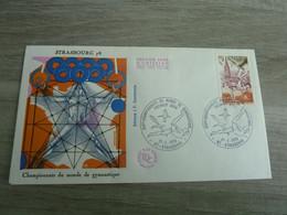 STRASBOURG - CHAMPIONNATS DU MONDE DE GYMNASTIQUE - 1978 - - Gymnastiek