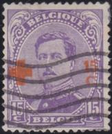 Belgie       .    OBP     .    154     .       O      .  Gebruikt     .   /   .  Oblitéré - 1918 Red Cross