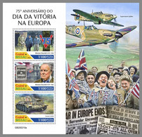 GUINEA BISSAU 2020 MNH Winston Churchill VE-Day M/S - OFFICIAL ISSUE - DHQ2039 - Sir Winston Churchill