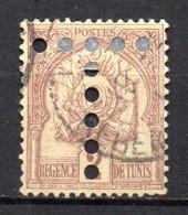 Col17  Colonie Tunisie Taxe  N° 10 Oblitéré  Cote 2,50€ - Postage Due
