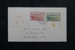 NOUVELLE HÉBRIDES - Enveloppe De Port Vila Pour Les U.S.A. En 1964 - L 72267 - Brieven En Documenten